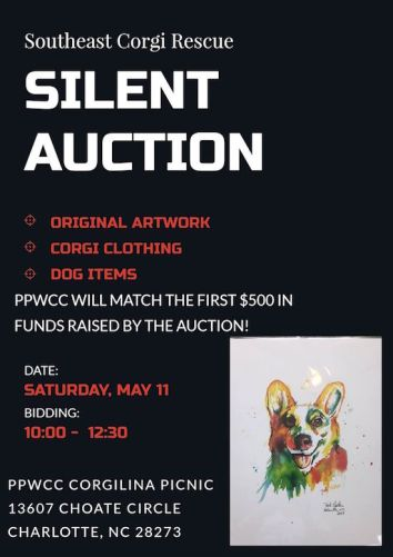 2019 Corgilina Silent auction